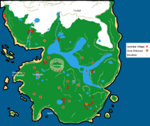 Mapa De The Forest.Map Official The Forest Wiki