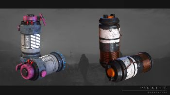 Impulse grenade and stun grenade.jpg