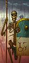 King Nekhesh's Scorpion Legion (Skeleton Spearmen)