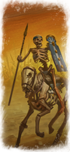 Skeleton Horsemen