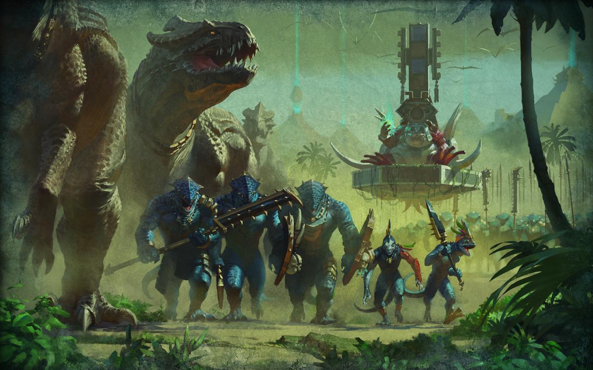 Image result for Lizardmen warhammer fantasy
