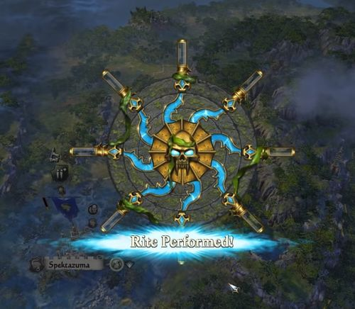 total war warhammer ritual