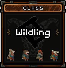 Skins you can use as Wildling.
