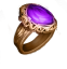 Flawless Charoite Ring