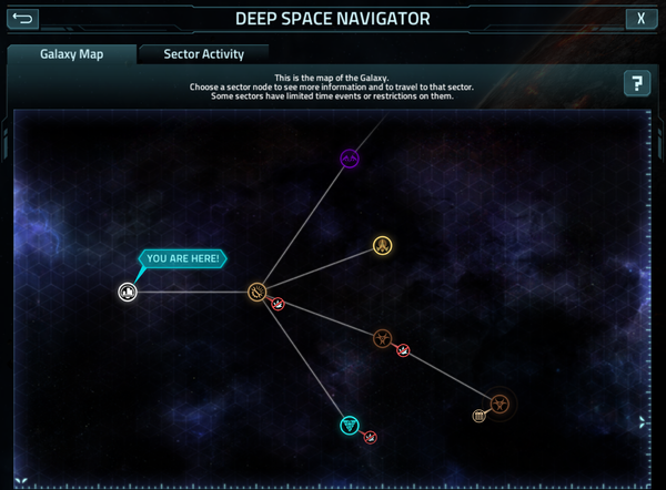 The Deep Space Navigator in-game.