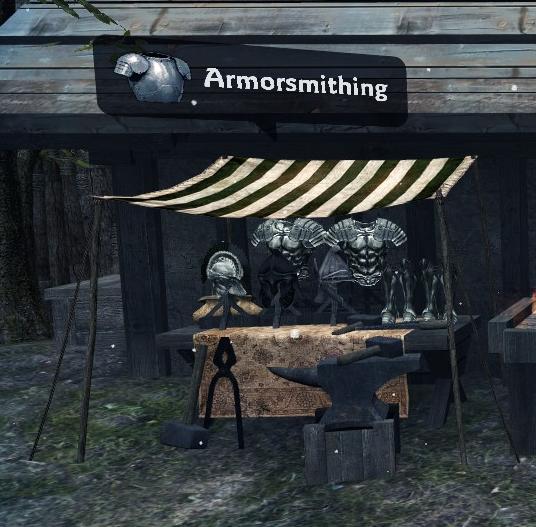 Armorsmithing Stall