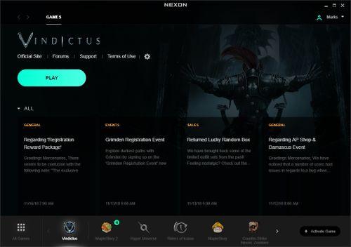 Nexon Launcher - Official Vindictus Wiki