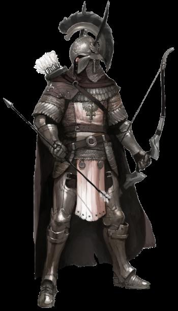 Kai wearing Royal Knight Set