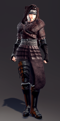 Exquisite Savage Leather Armor Set (Vella 1).png