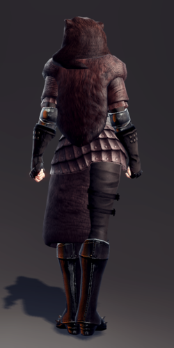Exquisite Savage Leather Armor Set (Vella 2).png