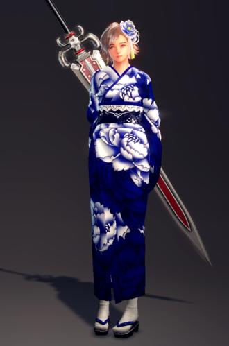 Classic Floral Yukata Set (Delia 1).png