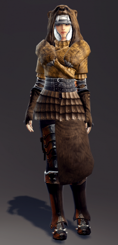 Exquisite Savage Leather Armor Set (Evie 1).png