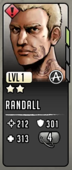 Randall Official The Walking Dead Road To Survival Wiki