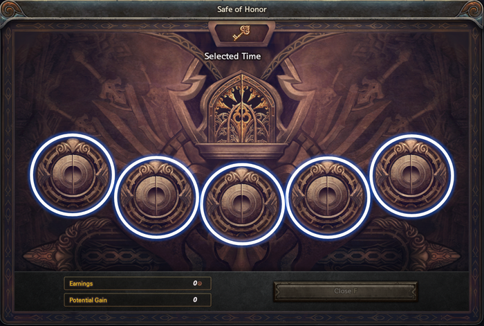 Safe of Honor interface.png