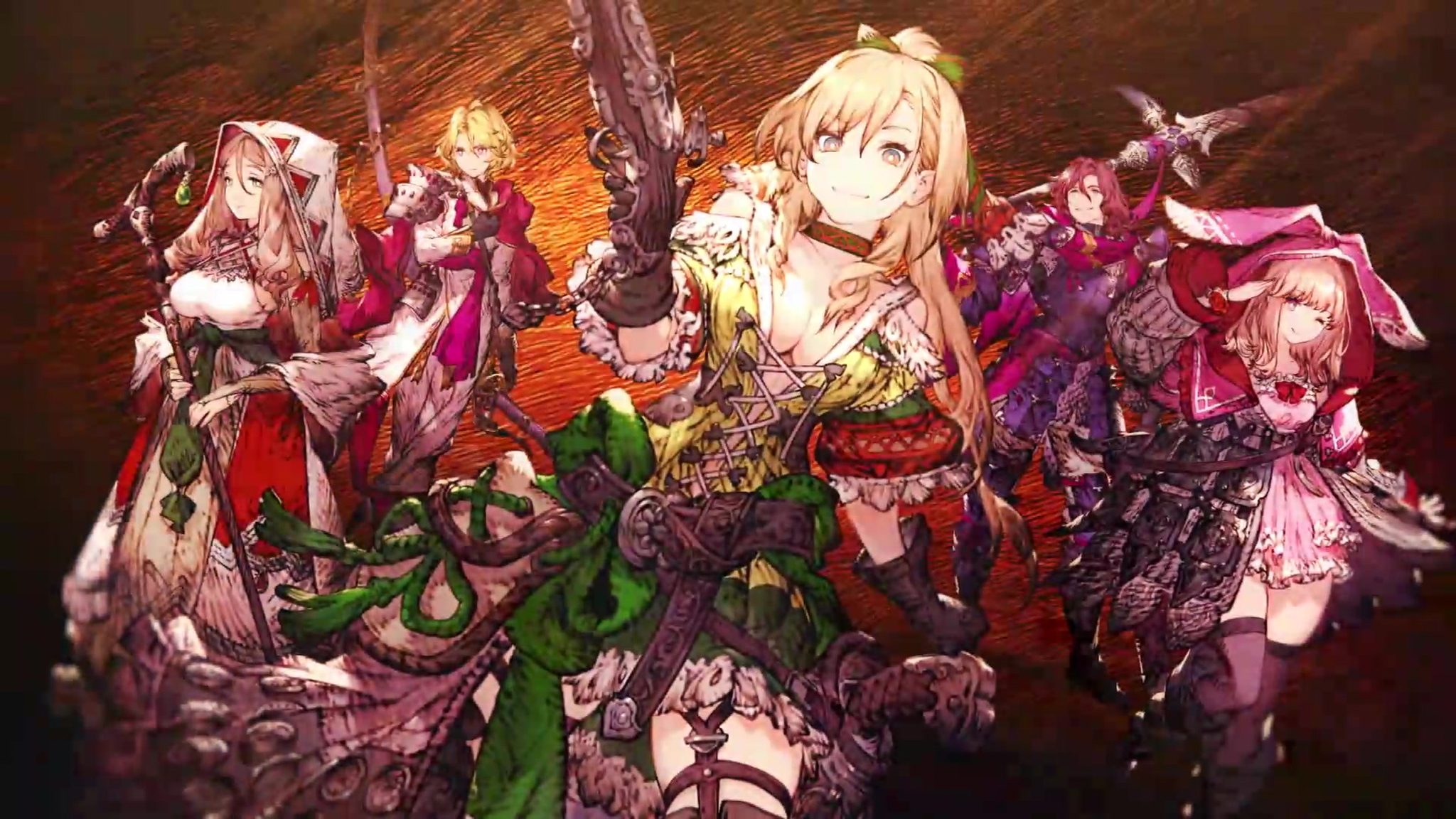 Wallpapers War Of The Visions Final Fantasy Brave