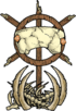 A Hammerhead Abomination effigy