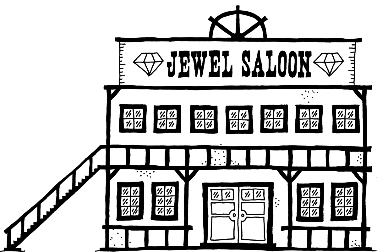 the jewel saloon west of loathing wiki. Black Bedroom Furniture Sets. Home Design Ideas