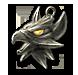 Wiedźmiński medalion cechu Gryfa