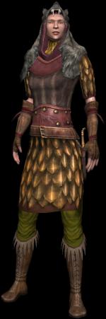 Lorethiel, an elven huntress