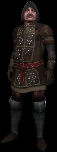 Orel, commander of the mercenaries