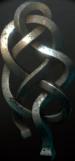 Wiedźmiński medalion cechu Żmii