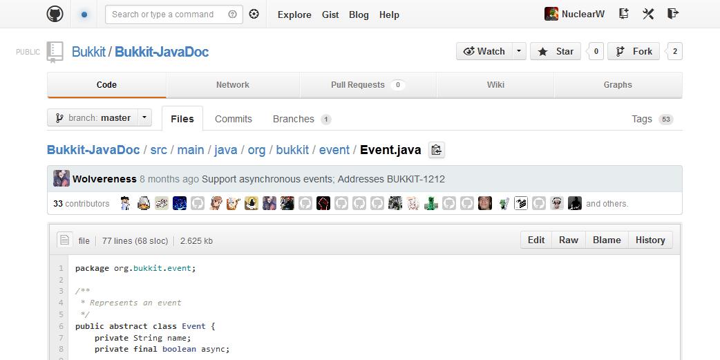 User:EvilSeph/Getting Involved - Official BukkitWiki