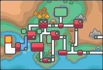 Location of johto Safari Zone in Johto