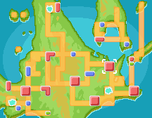 Location of team Galactic HQ in Sinnoh