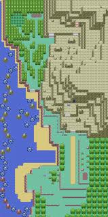 Map of hoenn Route 115
