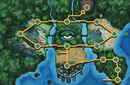 Location of giant Chasm in Unova