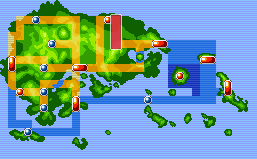 Location of hoenn Route 120 in Hoenn