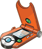 The newest model of the Hoenn Pokédex
