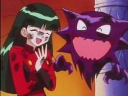 Sabrina with Ash's Haunter.jpg