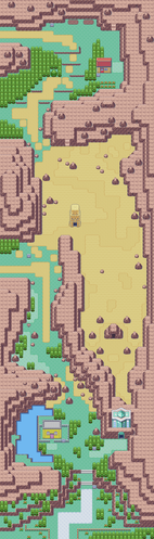 Map of hoenn Route 111
