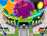Map of pokémon Musical