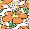 669 Flabébé Orange Flower.png