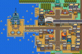 Map of Goldenrod City