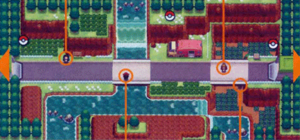 Map of route 11