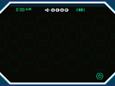 The screen of C-Gear