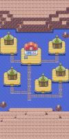Map of Pacifidlog Town