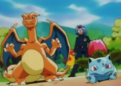James Charizard and Ivysaur.png