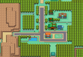 Map of Viridian City