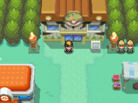 Map of johto Safari Zone