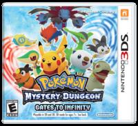 Pokémon Mystery Dungeon: Gates to Infinity's Boxart