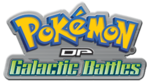 Logo of Pokémon: DP Galactic Battles - Season 12