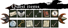 Quest items pocket