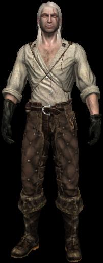 Γκέραλτ without armor