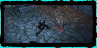 Γκέραλτ fighting Leo's ghost