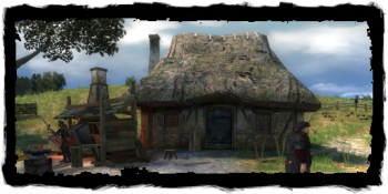 the blacksmith's house and shop