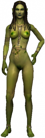 the Naiad from the Παραλίμνιο, censored version
